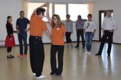 Claudia und Horst Petermann, Trainer der Boogies Aschaffenburg